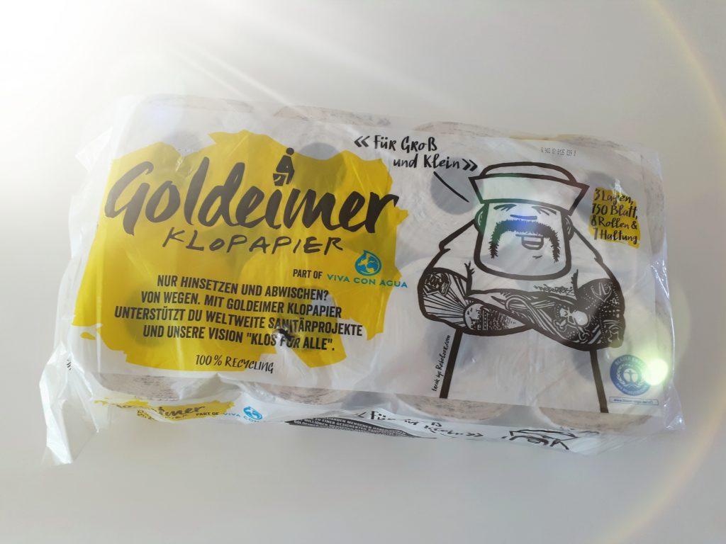 Klopapier? Goldeimer!