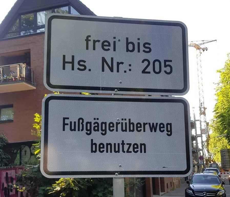 Schild mit Freiheit der Rechtschreibung